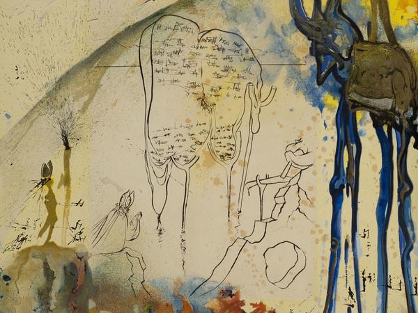 Salvador Dalí,Moise et Monotheisme, 1975