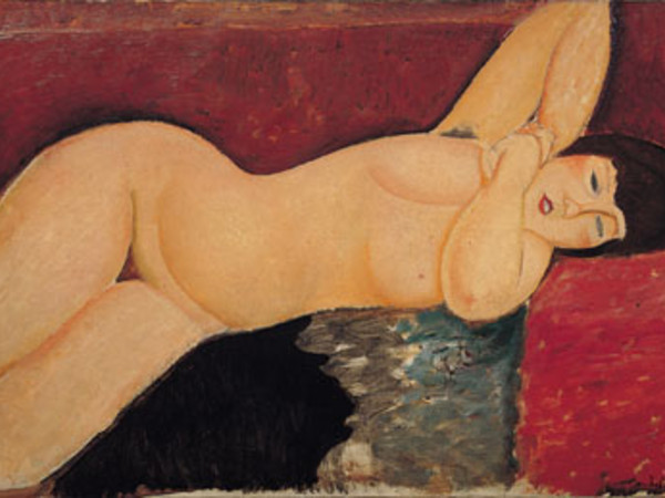 Nu couché - Amedeo Modigliani