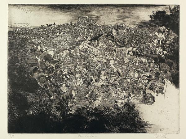 Jean-Pierre Velly, Tas d'ordures, 1969