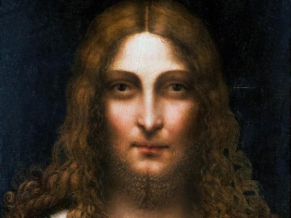 Gian Giacomo Caprotti detto Andrea Salai, <em>Testa di Cristo</em>, Olio su tavola, 37.5 x 57.5 cm<br />