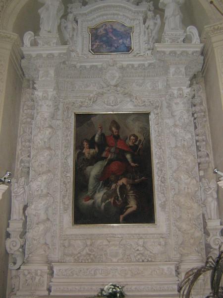 Sant'Oronzo in gloria che protegge Lecce