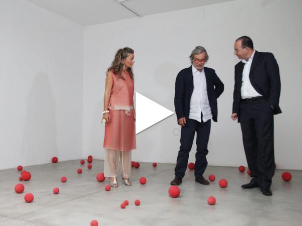 Annamaria Maggi, Maurizio Mochetti e Alberto Fiz, Galleria Fumagalli, Bergamo, 2011