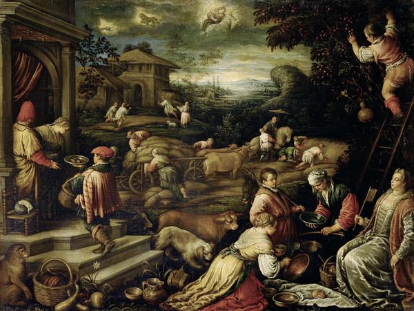 Francesco da Ponte, detto Francesco Bassano, Estate 1585-1590 ca. Olio su tela, cm. 111x145,5