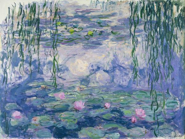 Claude Monet (1840 - 1926), <em>Ninfee</em>, 1916-1919 circa, Olio su tela, 150 x 197 cm Parigi, Musée Marmottan Monet, Lascito Michel Monet, 1966 | © Musée Marmottan Monet, Paris / Bridgeman Images