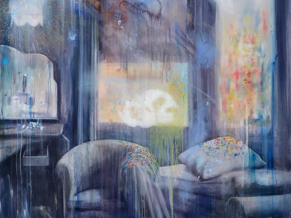 Manfredi Beninati, <em>Senza titolo</em>, 2019, olio su tela, cm. 200x133