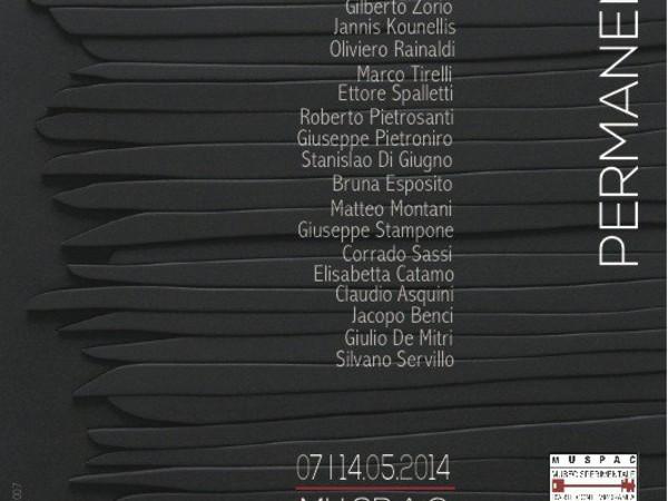 Collezione permanente, MU.SP.A.C. - Museo Sperimentale d'Arte Contemporanea, L'Aquila