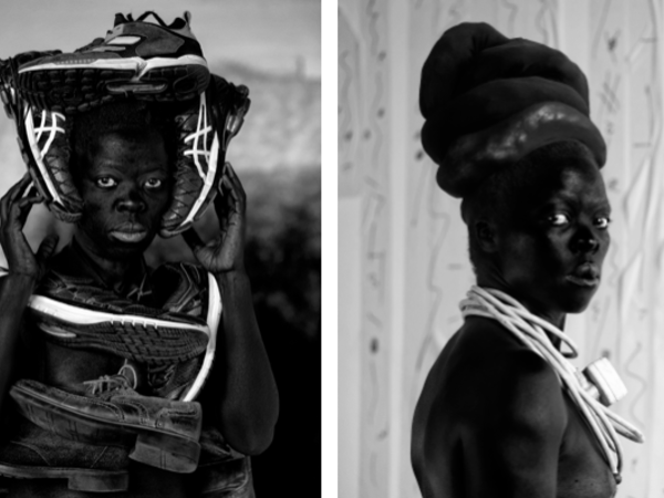 Fotografie di Zanele Muholi. Silver gelatine print, 2016