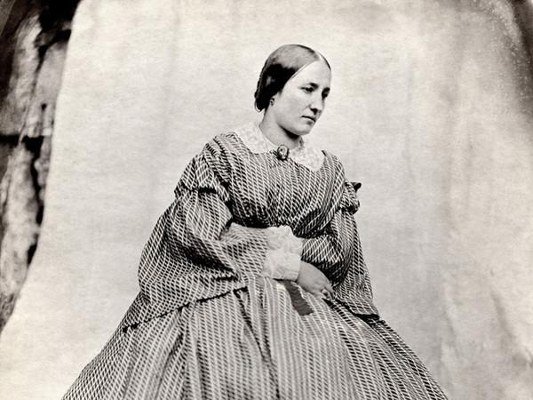 Giuseppe Venanzio Sella, <em>La sorella Maria</em>, 1858, Carta salata | Courtesy of Fondazione Sella<br />