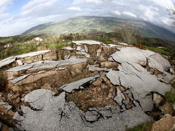 Effetti del terremoto in Emilia nel 2014