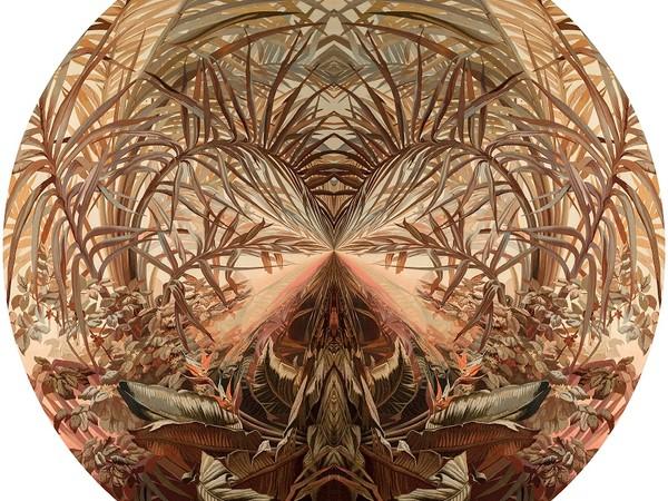 Charles Maze, Gli alberi del viaggiatore, 2016, 120cm