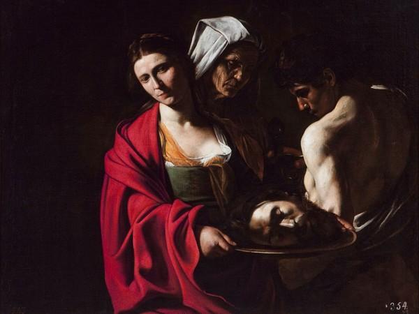 Michelangelo Merisi da Caravaggio, <em>Salom&egrave; con la testa del Battista</em>, 1607, Madrid, Patrimonio Nacional, Palazzo Reale di Madrid