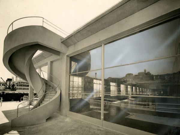Studio Marconi, Stazione marittima Andrea Doria a Genova (architetto L. Vietti), 1932 ca., Mart, Archivio del '900, Fondo Figini-Pollini