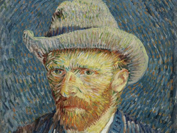 Vincent van Gogh, Autoritratto con cappello di feltro grigio, tra settembre e ottobre 1887. Olio su tela, 44 x 37.5 cm. Amsterdam, Van Gogh Museum