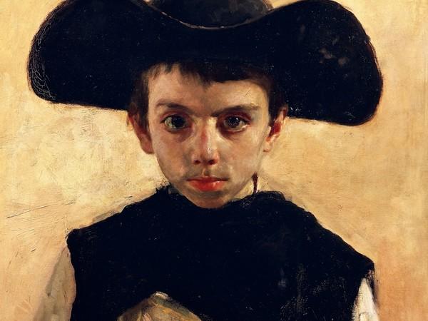 Antonio Mancini, Prevetariello, 1870, olio su tela, cm. 66x53