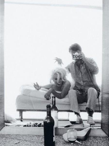 Marilyn, the last sitting. Bert Stern
