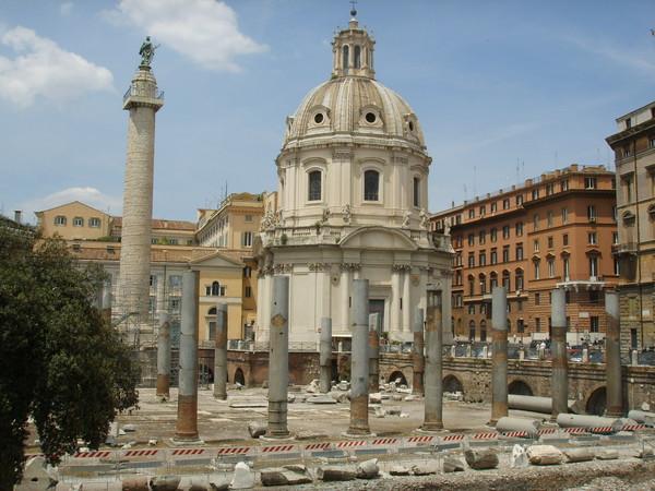 Colonna Traiana e Mercati