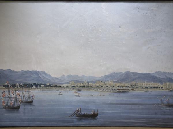 Francesco Zerilli, Visita di Francesco I a Palermo, 1830 circa