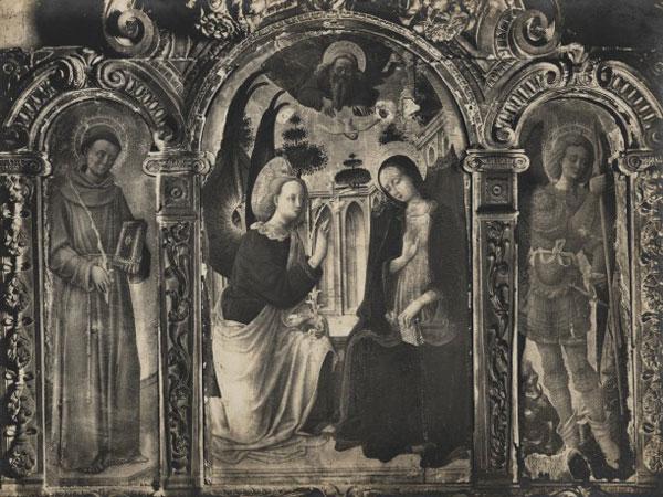 Annunciazione fra Sant'Antonio e Michele Arcangelo