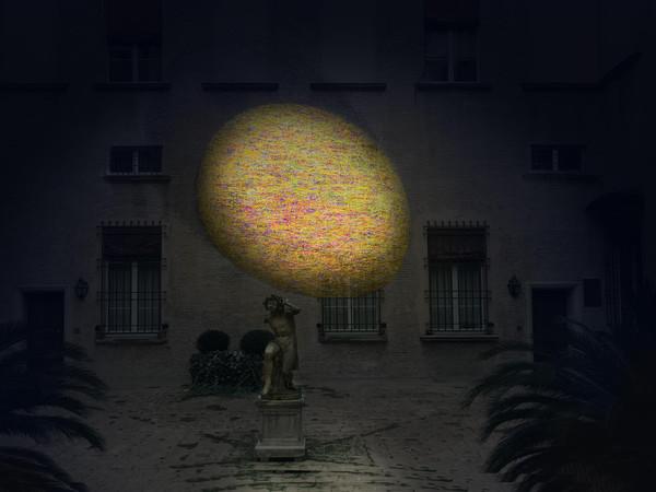 Giorgio Bevignani, EosEco, installazione site-specific, Palazzo Zambeccari, Bologna
