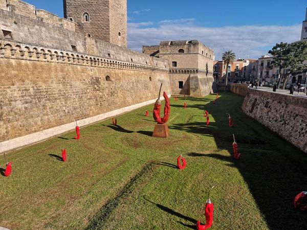 Giuseppe Carta, Epifania della Terra, Castello Svevo di Bari