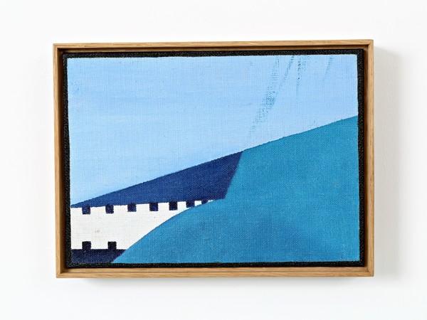 Enrico Della Torre, Atlantico, 2010, olio su tela, cm. 15,5x21,5