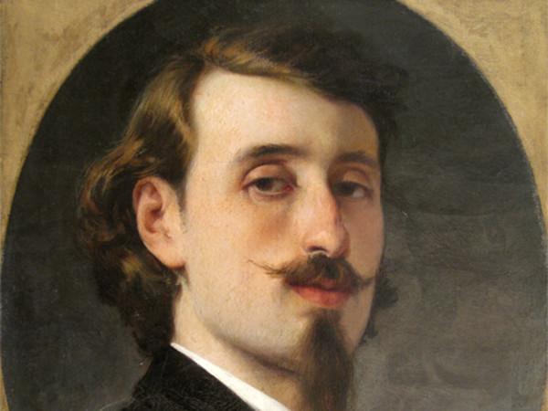 Luigi Busi, Autoritratto, 1860, Fondazione Collegio Artistico Venturoli, Bologna