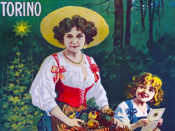 Manifesto di Leonida Edel per la Cassa mutua cooperativa italiana per le pensioni, Torino, 1895