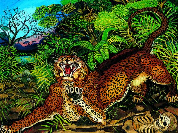 """<div class=""""page"""" title=""""Page 2""""> <div class=""""section""""> <div class=""""layoutArea""""> <div class=""""column""""><span>Antonio Ligabue,</span><em>Leopardo nella foresta</em>, 1956-1957, Olio su tavola di faesite, 54 x 54 cm, Collezione privata, Negri 238-480 / P. III</div> </div> </div> </div>"""