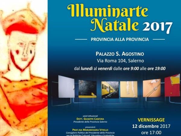 IlluminArte Natale 2017, Palazzo della Provincia, Salerno