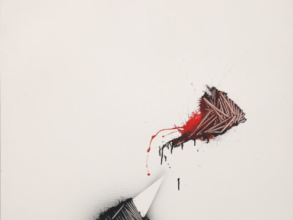 Opera di Emilio Scanavino