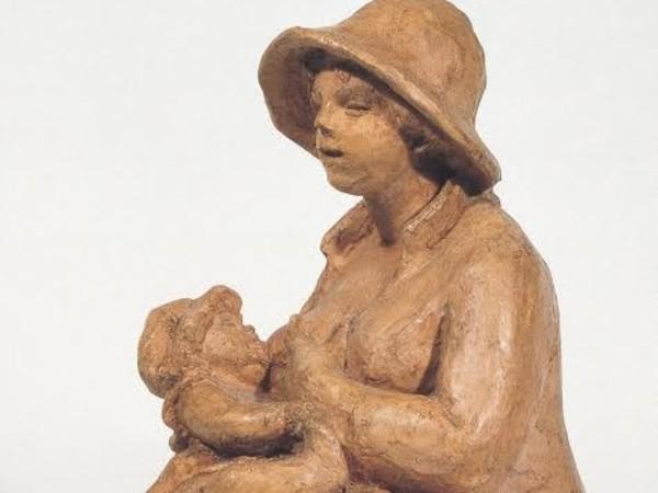 Pierre Auguste Renoir, Maternità - Aline e Coco, 1916.