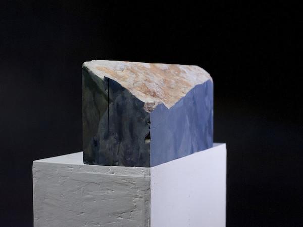 Pietro Manzo, Frammento 6, olio su marmo
