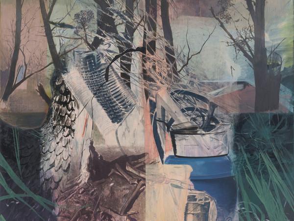 Ian Tweedy, The Wing painting