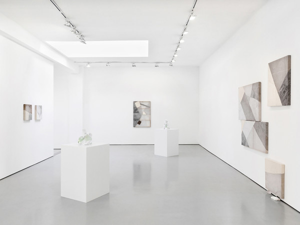 Exhibition view, Constellations I drew in Nevada, Martha Tuttle' solo show, Luce Gallery, Turin, 2020 I Ph. Andrea Ferrari