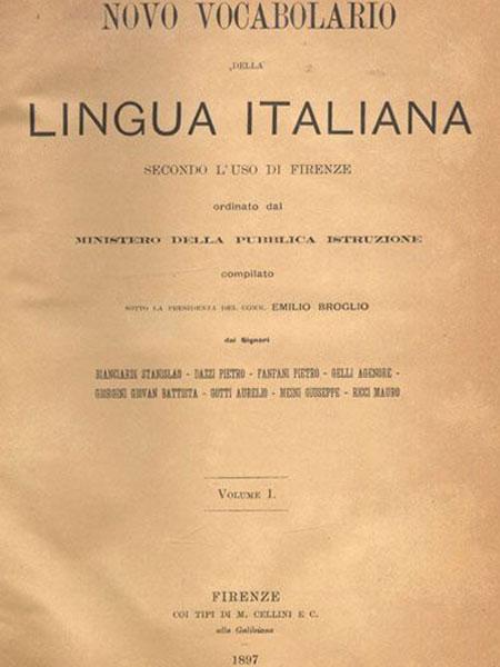 Novo vocabolario della lingua italiana