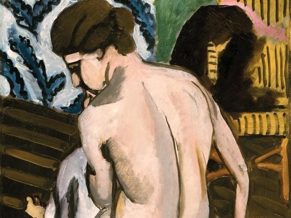 Henri Matisse, Nudo seduto di spalle, 1917, olio su tela. Philadelphia Museum of Art