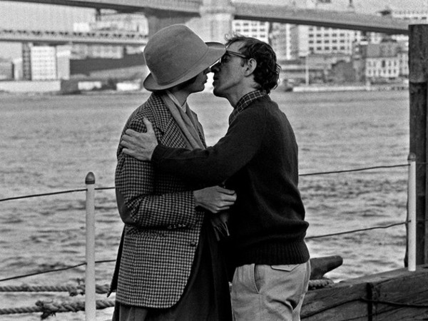 Brian Hamill, Diane Keaton and Woody Allen, Pier 17, Annie Hall