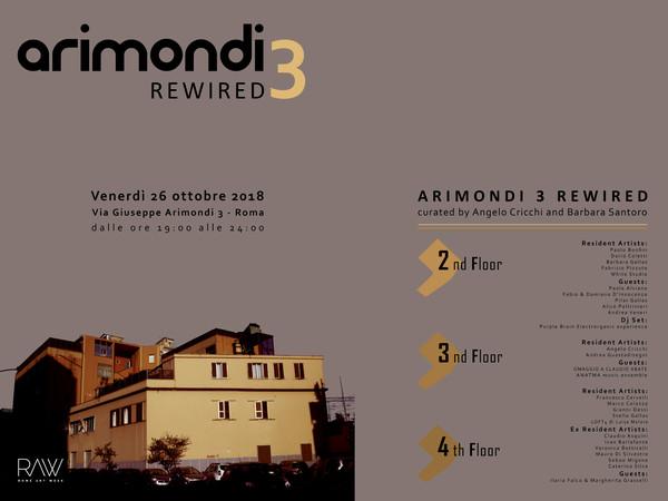 <em>ARIMONDI 3 REWIRED</em>, A cura di Angelo Cricchi e Barbara Santoro