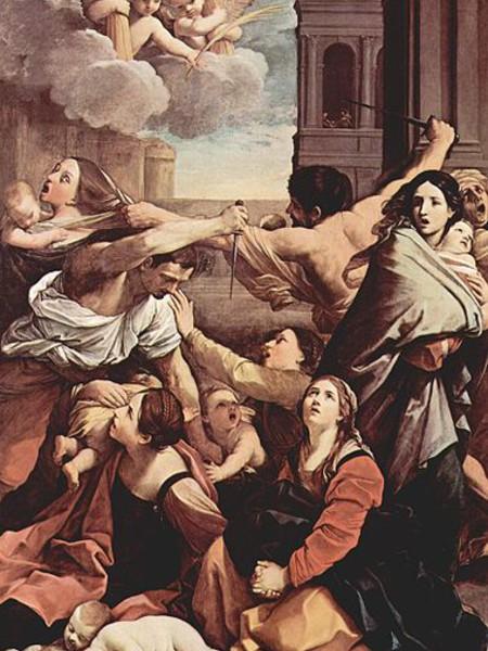 San Carlo Borromeo con angeli