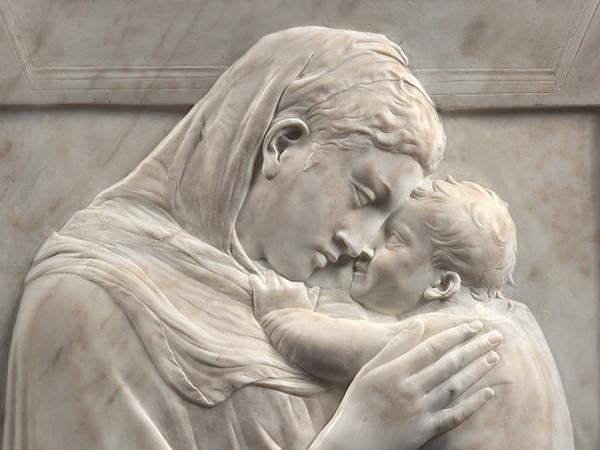 Donatello, Madonna col Bambino (Madonna Pazzi), 1420-1425 circa, Staatliche Museen zu Berlin – Preußischer Kulturbesitz. Skulpturensammlung und Museum für Byzantinische Kunst I Ph. Antje Voigt