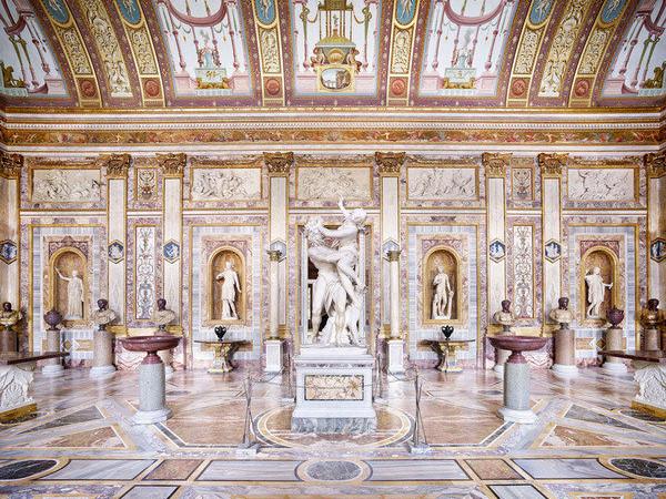 Candida Höfer, Galleria Borghese, Roma