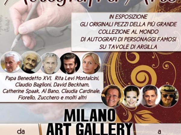 Autografi d'Arte, Milano Art Gallery, Milano
