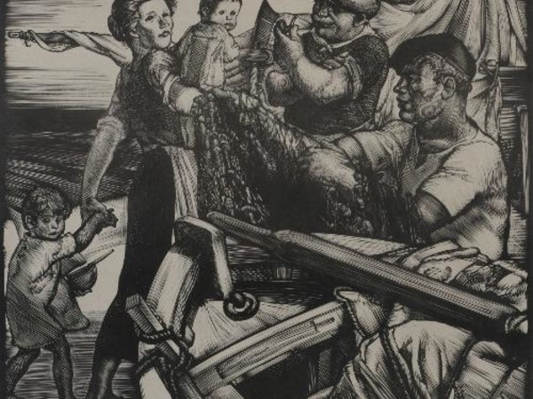 Stanis Dessy, Pescatori, 1934