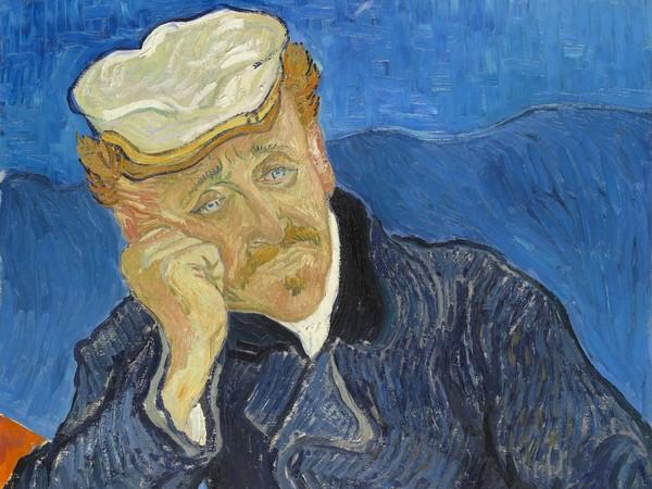 Vincent van Gogh, Ritratto del Dottor Paul Gachet, 1890, Olio su tela, 57 x 68 cm, Parigi, Musée d'Orsay | L'opera fece parte della mostra organizzata a New York da Paul Rosenberg nel 1942, dopo essere stata confiscata allo Staedl Museum di Francoforte da Goering nel 1938, venduta a un banchiere tedesco e successivamente rimessa in vendita, per raggiungere così l'America all'inizio degli anni '40