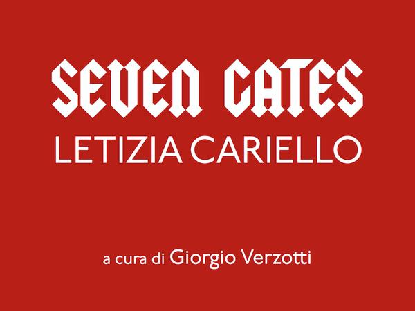 Letizia Cariello. Seven gates, Galleria Fumagalli, Milano