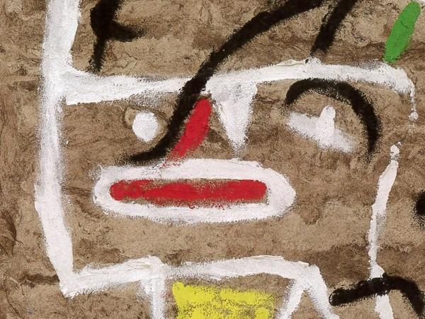 Joan Miró,<em> Testa d'uomo</em> (Dettaglio), 1935, Portuguese State Collection in deposit in Fundaçäo de Serralves | © Successió Miró by SIAE 2019 | Foto: Filipe Braga<br />
