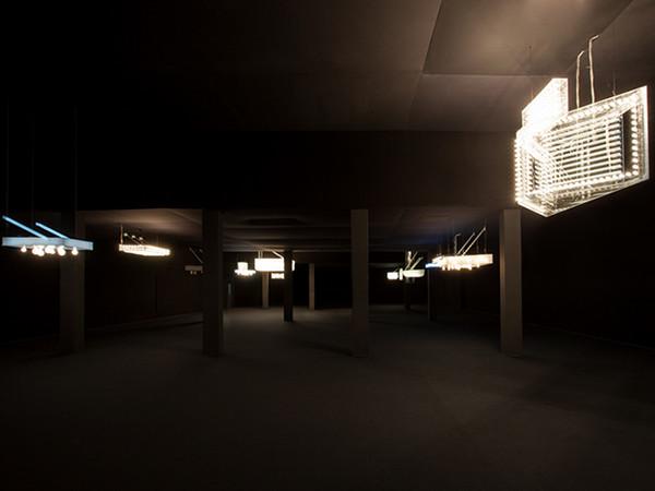 Philippe Parreno Hypothesis, veduta dell'installazione,HangarBicocca, Milano