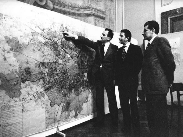 Presentazione del Piano Regolatore di Milano, 1975