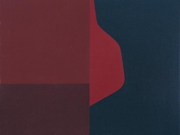 Arturo Bonfanti, Composizione 97, 1962, olio su tavola, cm. 55x46