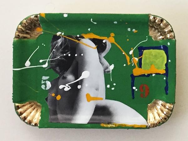 "Claudio Di Carlo, ""59"", 2020, mixed media, cm. 22x14,5"